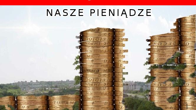 Ratuj Lublin, ratuj Górki Czechowskie – PIENIĄDZE