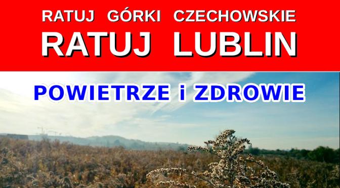 Ratuj Lublin, ratuj Górki Czechowskie – POWIETRZE