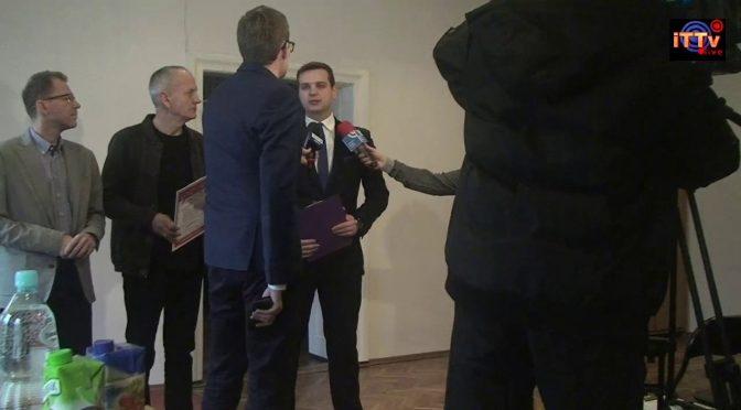 Konferencja prasowa Posła Jakuba Kuleszy dot. wyjaśnienia procesu zagospodarowania terenu Górek Czechowskich
