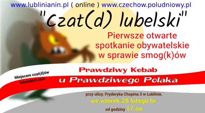 Czat(d) lubelski – w sprawie smog(k)ów