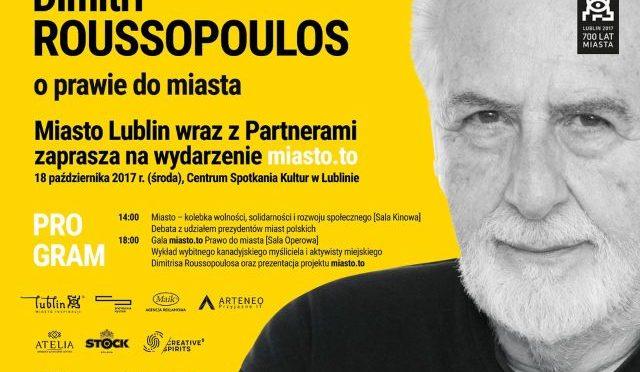 Czy mógłbyś zejść ze sceny? Czy to Dimitri Roussopoulos powinien był opuścić scenę, tę scenę!