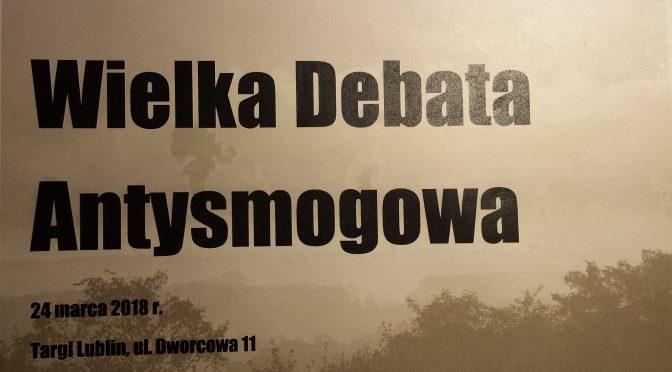 Czasem się wielkie debaty koryguje – maleńkimi wystąpieniami