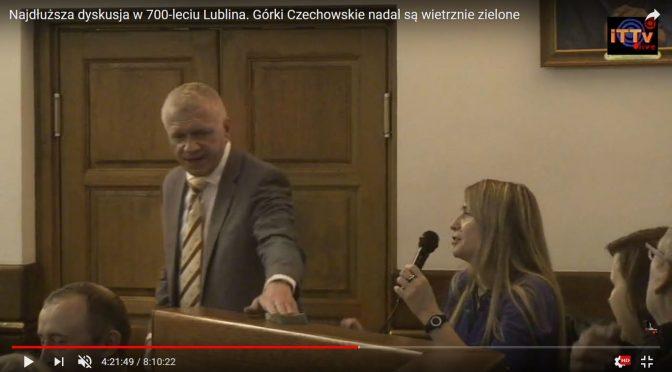 Najdłuższa dyskusja w 700-leciu Lublina. Górki Czechowskie nadal są wietrznie zielone